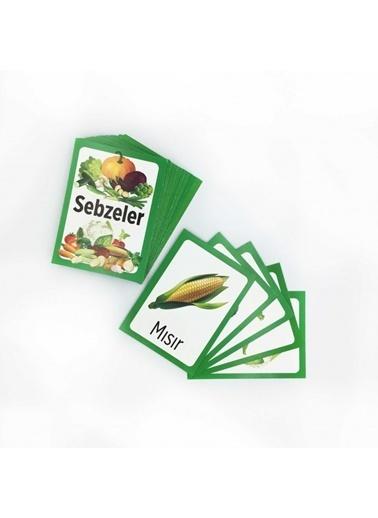 Artikel Sebzeleri Eşleştirme Hafıza Kart Oyunu Renkli